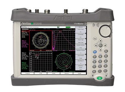 Anritsu MS203xB VNA Master™ + Spectrum Analyzer (Handheld)