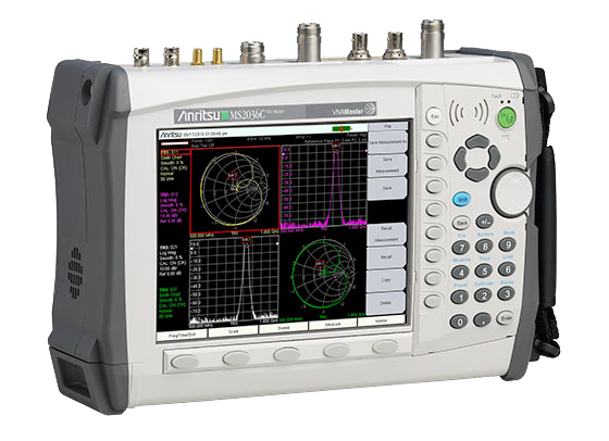 Anritsu MS203xC VNA Master™ + Spectrum Analyzer (Handheld)
