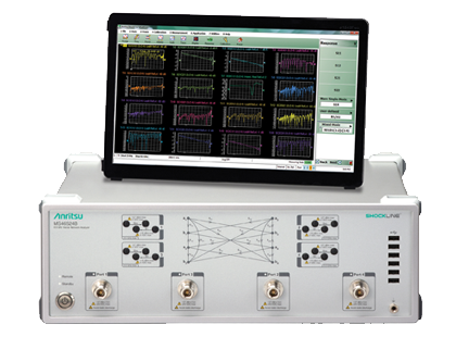 Anritsu MS46524B 4-Port Performance VNA (Shockline™)