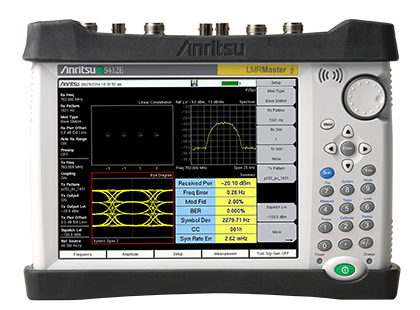 Anritsu S412E Land Mobile Radio Modulation Analyzer (Handheld)